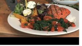 Spicy Spinach and Salmon Gremolata