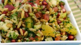 Nutritious Bhel (Diabetic Snack) by Tarla Dalal