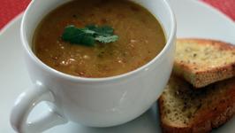 Vegan Curried Split Pea Soup