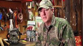 The Sporting Chef TV - Alan Clemons reminds you to keep you big head down