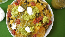 Easy Snack for Kids Healthier Nachos