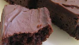 Chocolate and Caramel Brownie