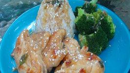 Healthy Asian Lemon Chicken - A Homemade