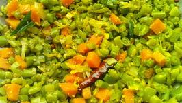 Colourful Beans Carrot Saute