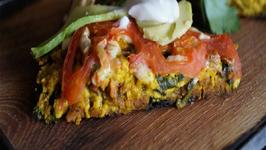 The Sexy Vegan Cooking - Episode 38 - Upton's Natruals Chorizo and Potato Frittata
