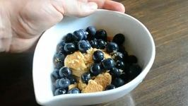 Blueberry Graham Sundae