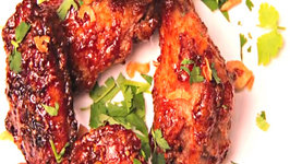Southeast Asian Style Sticky Wings