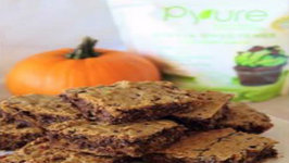 Healthy and Delicious Pumpkin Blondies