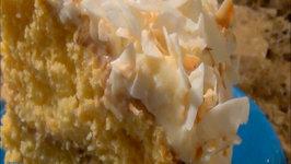 Charmed Pineapple Coconut Cloud Cake