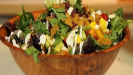 Brad's Raw Foods  Brad's Raw  Taco Salad (La Fiesta RAWvolution!)