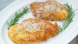 Crispy Parmesan Crusted Chicken- Quick Weeknight Dinner