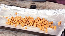 Roasted Garbanzo Beans, Sweet and Spicy Recipe - Gluten Free Snacks