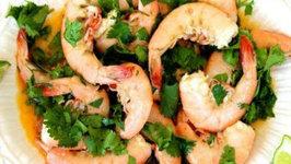 Spicy Lime Cilantro Shrimp