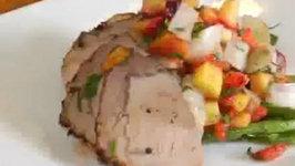 Coriander Crusted Pork Loin
