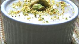 Pistachio Phirni - Pistachio Rice Pudding