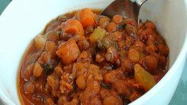 Slow Cooker Vegetarian Lentil Stew