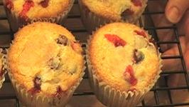 Fruited Orange Cranberry Muffins