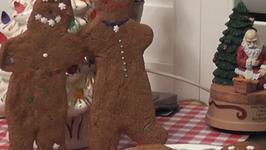 Gingerbread Men and Ginger Kisses