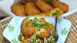 Chole Tikki Chaat- Indian Street FoodSnacks Collaboration