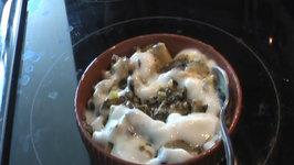 Aloo Palak  Spinach Potato Fry