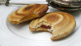 Cuban Flying Saucer Grilled Sandwich