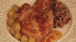 Porc au Raisin