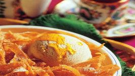 Honey Noodles with Vanilla Ice Cream by Tarla Dalal