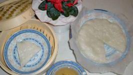Steamed White Sugar Sponge Cake ( Bak Tong Gou )
