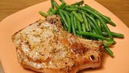 Healthy Braised Pork Loin Chops
