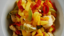 Pineapple and Chicken Stir Fry