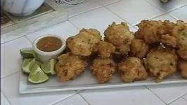 Caribbean Salt Cod Fritters