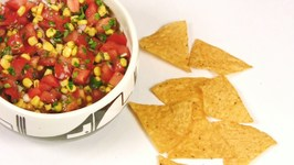 Corn and Tomato Salsa with Lime