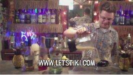 Classic Molokai Mike Tiki Cocktail