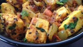 Achari Paneer- Indian Vegetarian Gourmet Food