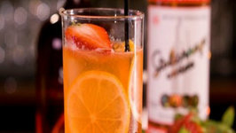 Strawberry Collins Cocktail
