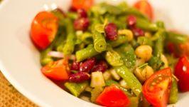 Three Bean Summer Salad
