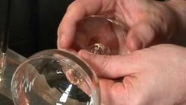 Rimming a Martini Glass