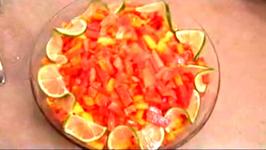 Hippy Gourmet makes Mango-Papaya Salsa