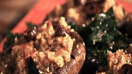 Mushroom Salad with Walnut