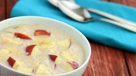 Banana Apple Porridge (Healthy Breakfast)