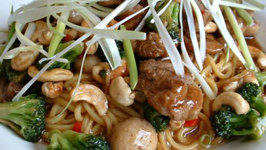 High Protein Chinese Pork and Noodles
