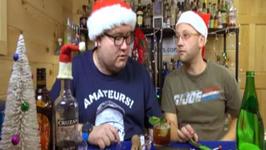 Spiced Holly Highball, Christmas Cocktail
