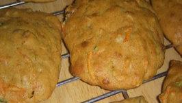 Healthy Dessert - Carrot Cake Cookies