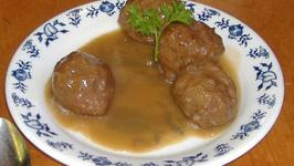 Swedish Beef Pork Meatballs