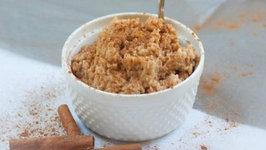 Bambara Peanut Butter Rice Pudding
