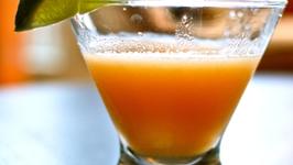 Cantaloupe Martini Garnishing Tips