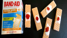 Band Aid Cookies- Halloween Special