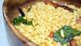 Masala Puffed Rice  Masala Borugulu - Simple Indian Snack
