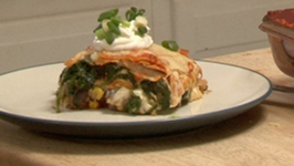 Layered Potato Enchilada