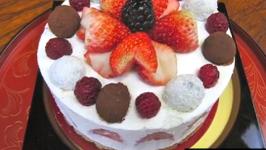 Cream Cheese Mousse Cake